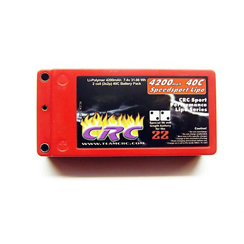 Shorty 7.4V 4200mah 40C Lipo Battery
