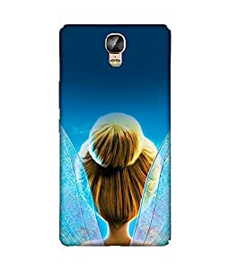 chnno Tinkerbell 3D Printed Back cover for Gionee Marathon M5 Plus