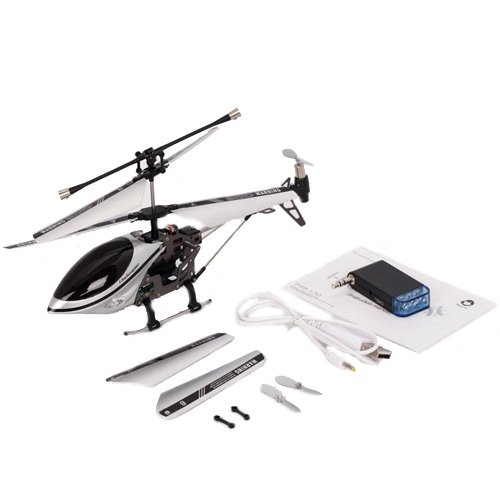 3.5 Channels Mini Helicopter (With Gyro) Silver&Black