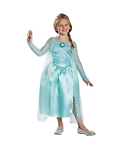 Shindigz Holiday Halloween Party Fashion Apparel Frozen Elsa Snow Queen Costume 7-8