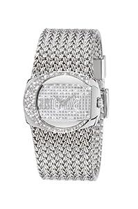 Just Cavalli Men's & Women's Stainless Steel Case mineral Watch R7253277545