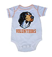 Tennessee Volunteers Infant Onesie Size 12 Months Bodysuit White Creeper