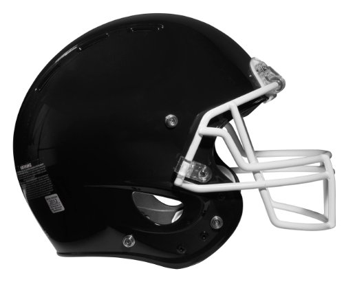 Rawlings NRG Force Football Helmet, X-Small, Black