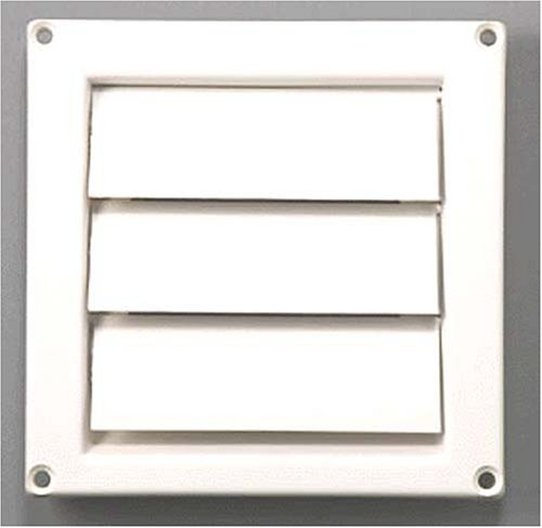 "4"" Replacement Hood Vent Cover - White front-609484"