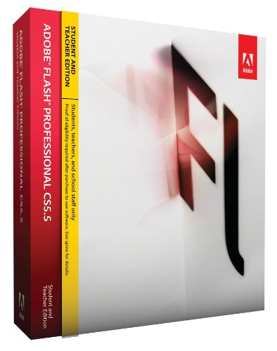 Adobe Flash Pro CS5.5 Student and Teacher Edition