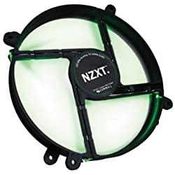 NZXT FAN-NT-LED-200-G FS200LED 200MM Silent Fan LED GREEN
