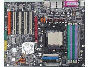 Msi k8n neo2-f 939 nvidia nforce3 ultra atx amd motherboard.