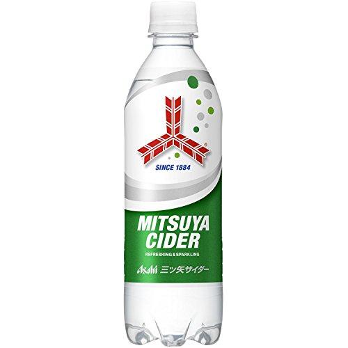 アサヒ飲料 三ツ矢サイダー ピュアボトル 500ml×24本