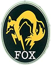 FOX Foxhound Metal Gear Solid PVC Airsoft Velcro Parche