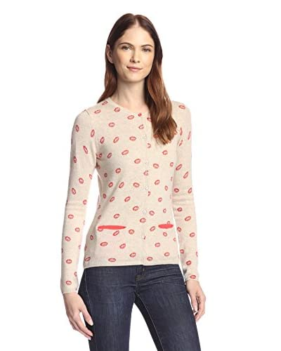 Kier & J Women's Lips Cardigan Sweater