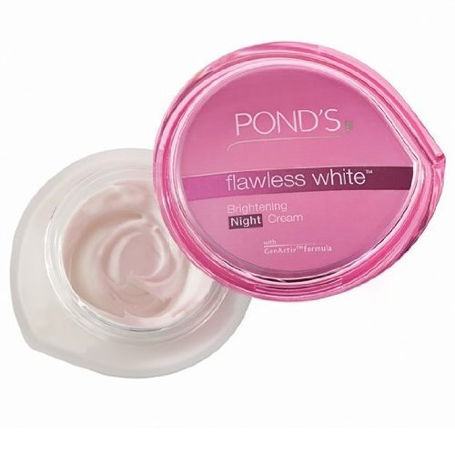 Pond's Flawless White Re-brightening Night Cream - 50gms