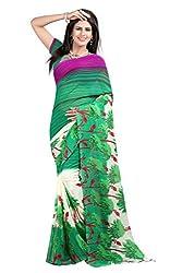 Pruthu Printed Georgette Saree