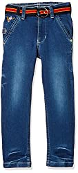 Seals Boys' Jeans (AM8166_NAVY_6)
