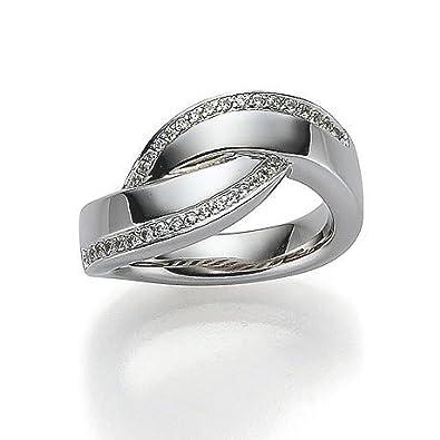 Viventy Women's Ring Silver Zirconia, W, 54