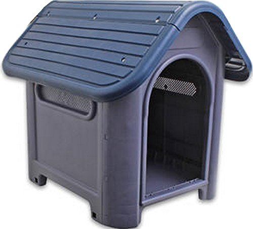 Indoor-Outdoor-Dog-House-Small-to-Medium-Pet-All-Weather-Doghouse-Puppy-Shelter
