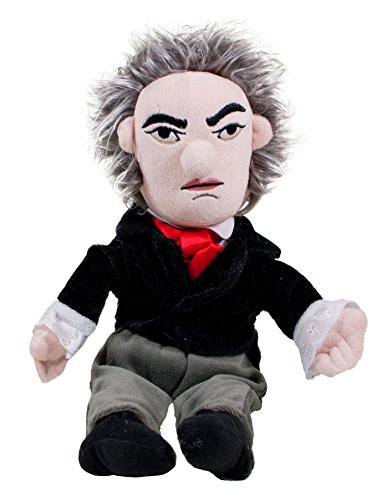 Ludwig van Beethoven Plush Little Thinker Doll - by The Unemployed Philosophers Guild (Beethoven Action Figure compare prices)