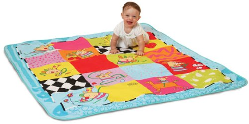 Taf Toys Kooky Picnic Activity Play Mat with Moisture Resistant Bottom. Extra Large Size