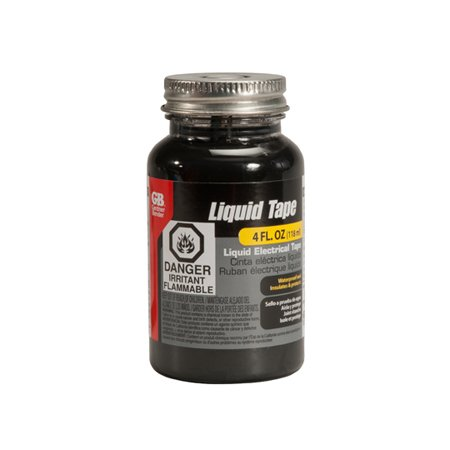 Gardner Bender LTB-400 4-Ounce Black Liquid Electrical Tape