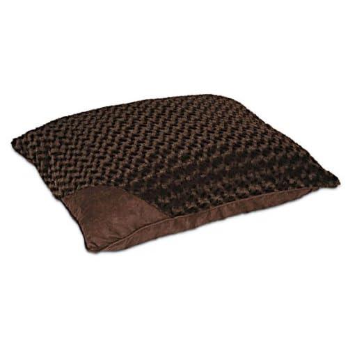 Petmate Deluxe Swirl Plush Bed, Espresso, 27 By 36 Inches sale 2015