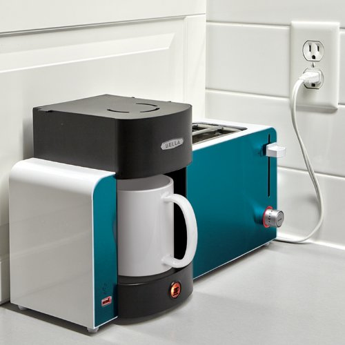 BELLA 14081 Toast and Brew Breakfast Station, Teal