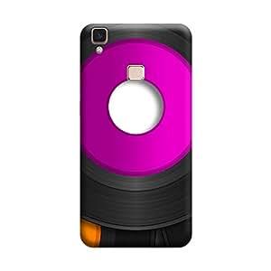 Ebby Premium Printed Mobile Back Case Cover With Full protection For Vivo V3 Max (Designer Case)