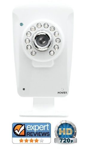 720p HD Wireless WiFi IP Security Camera. Simple 3 steps setup using a mobile Black Friday & Cyber Monday 2014