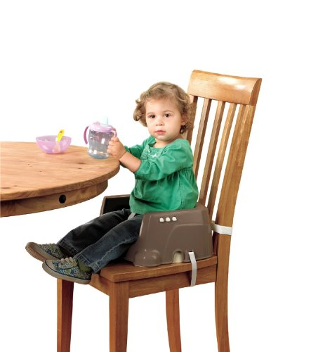 Fisher Price Healthy Care Deluxe Booster Seat Brown Tan