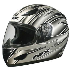 AFX FX-20 Helmet - 2X-Large/Silver Multi