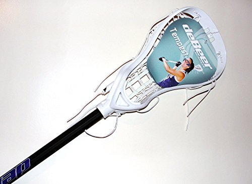 used-womens-debeer-tempest-20-pro-lacrosse-stick-and-shaft-green-head-and-silver-soft-feel