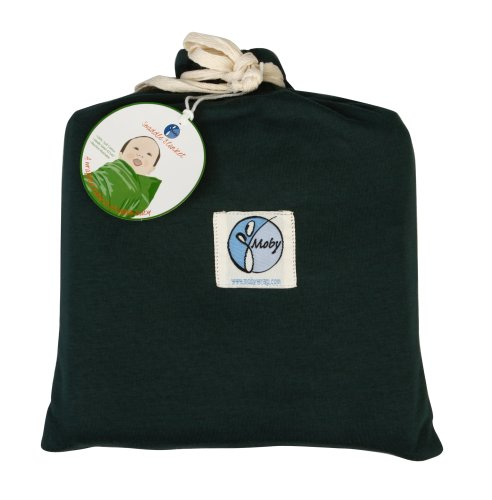 Moby Wrap 100% Cotton Swaddle Blanket, Forest front-727655
