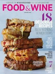 Food & Wine magazine January 2015-48 delicious recipes from inspiring women cooks by Food & Wine