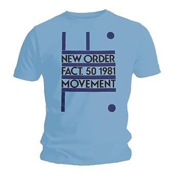 Bravado Mens New Order - Movement - Blue - Mens t-shirt Small Blue 30333000AP Small