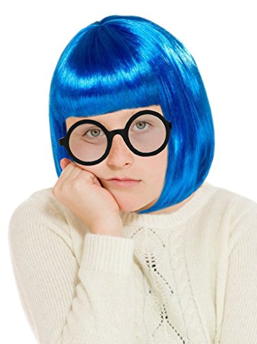 Costume Adventure Debbie Downer Costume Wig and Glasses Character Costume Set