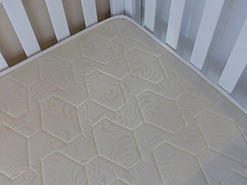 Mattress Crib Mattress For Baby White - Orthopedic - 100% Cotton - Waterproof - Baby Dreams