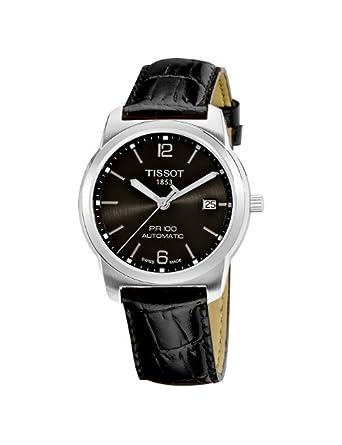 天梭表海淘:Tissot 天梭男士皮带机械手表