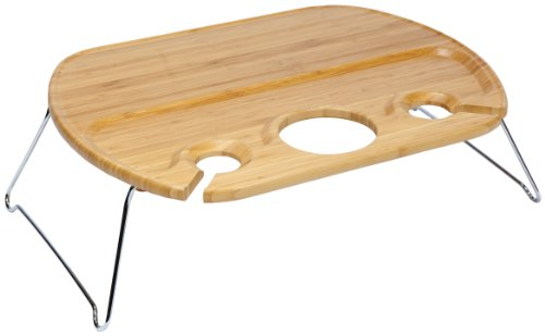 Table With Wine Storage front-30901