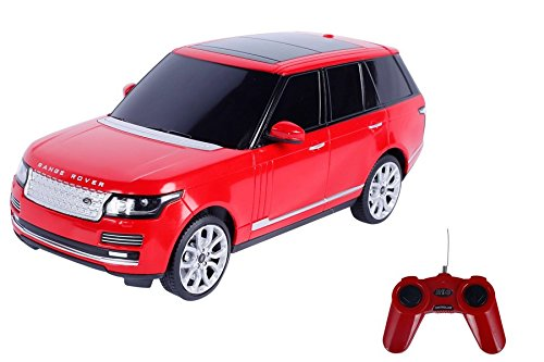 Toyhouse Officially Licensed Range Rover 1:24 Scale Model Car, Red low price