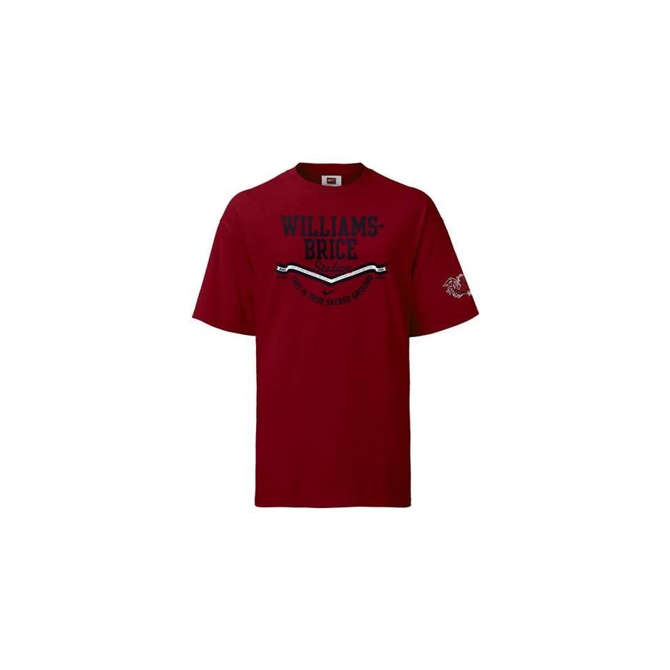 Nike South Carolina Gamecocks Garnet Stadium T shirt