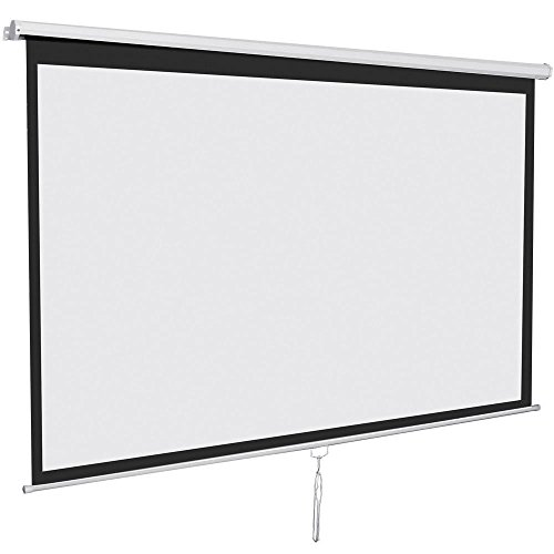 manual pull down projector screen 16 9
