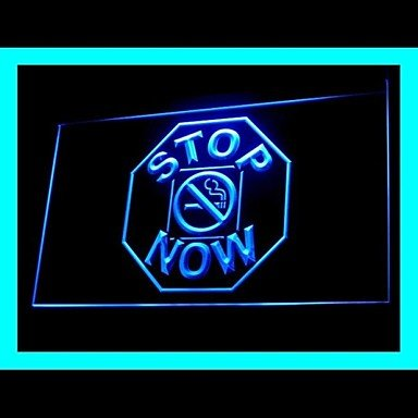 Stop Smoking Now Advertising LED Light Sign