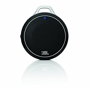 JBL Micro Wireless Ultra-Portable Speaker with Built-In Bass Port and Wireless Bluetooth Connectivity (Black)
