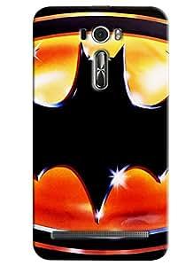 Blue Throat Wave Design Printed Designer Back Cover/Case For Asus Zenfone 2 (ZE601KL)