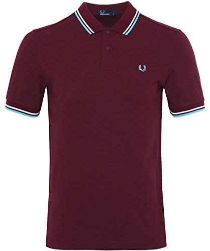 Fred Perry Slim Fit doppia punta Polo Shirt Porta S