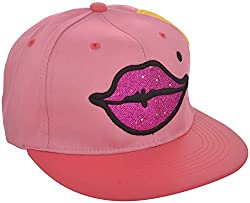ICE DRAGON Unisex Cotton Cap (Pink)