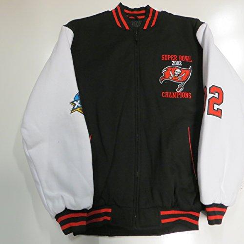 Mens Tampa Bay Buccaneers Antigua Gray Victor Quarter Zip Pullover Jacket