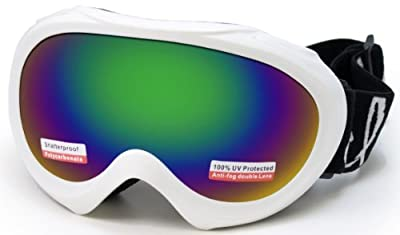 Cloud 9 Kid's Snow Goggles in White