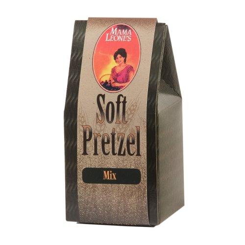 Mama Leone's Soft Pretzel Bread, 17-Ounce Box (Pack of 4)