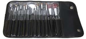 13 Piece Makeup Brush Set and Case