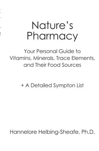 Nature'S Pharmacy: Your Personal Guide To Vitamins, Minerals, Trace Elements, Their Food Sources + A Detailed Sympton List [Paperback] [2007] (Author) Hannelore Helbing-Sheafe Ph.D