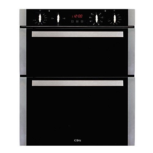 CDA DK751SS Built-Under Double Electric Oven-Stainles